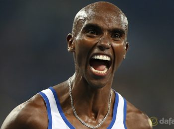 Mo Farah completes Olympic 'double double'