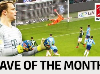 Top 5 Saves in January 2019 – Vote for your Save of the Month