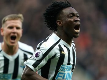 Christian Atsu eyes long Newcastle stay