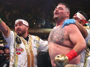 Andy Ruiz Takes Swipe at Tyson Fury after being criticized