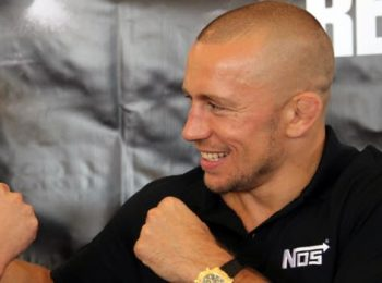 GSP Willing to Face Nurmagomedov for Right Deal