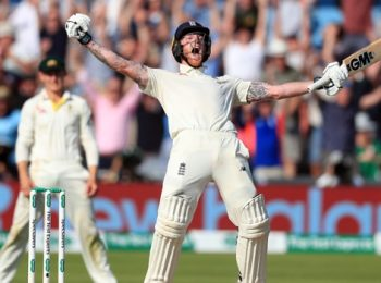 England's Stokes Named ICC Player Of The Year
