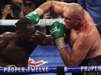 Deontay Wilder Blames Costume He Wore to the Ring For Loss Against Tyson Fury