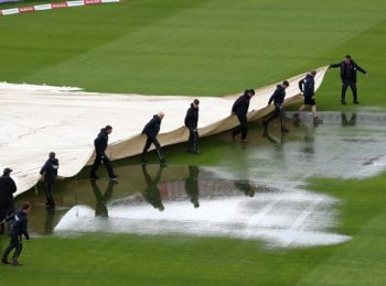 Rain Prevents Action On Day Four Third Test Match