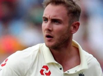 Broad Fined For Using Inappropriate Language In First Test Against Pakistan