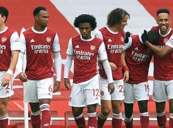 Arsenal Makes Comeback Win against Rapid Wien
