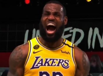 Los Angeles Lakers One win away from NBA Finals win