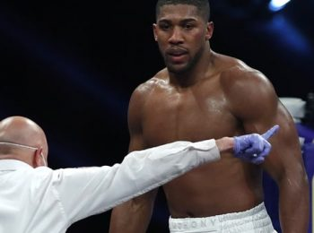 Anthony Joshua admits he is coming towards the end of his career