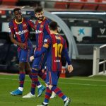 Pique suffers injury, set to miss Champions League second leg