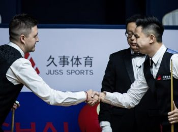 Kyren Wilson and Xiao Guodong advance to final group
