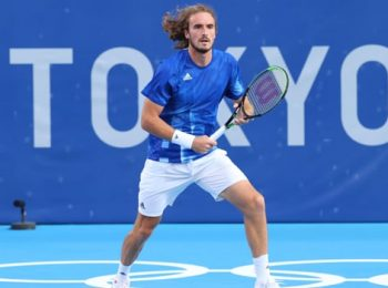 Stefanos Tsitsipas ready to face Frances Tiafoe in the second round of Men's Singles Tennis event at Tokyo Olympics