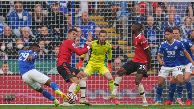 Leicester City Dominate Manchester United at King Power Stadium, 4-2